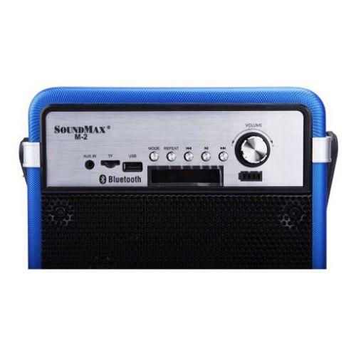 Loa du lịch Soundmax M2 mau xanh